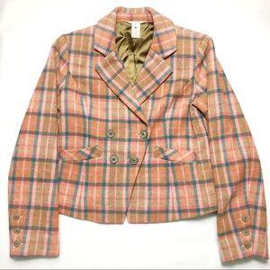 Sundance Spencer Plaid Riding Jacket